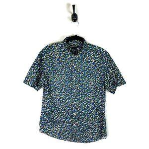 Michael Kors   Slim Fit Button Up Shirt Large EUC